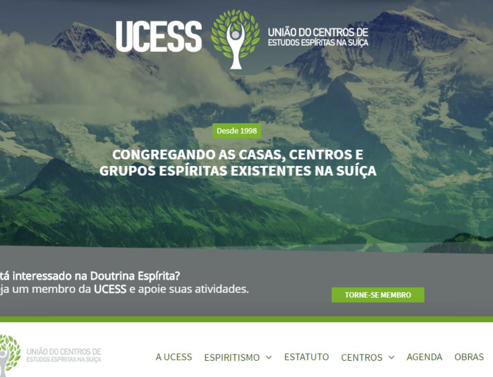 Novo site da UCESS traz mais conteúdo e novas áreas de interação