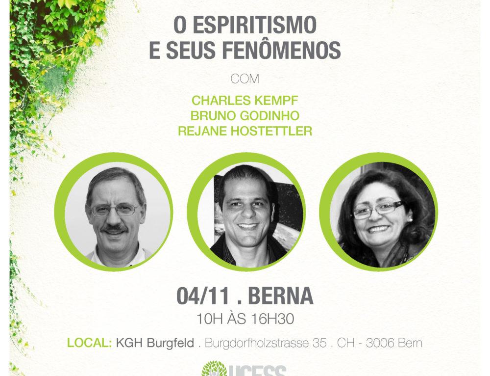 O Espiritismo e Seus Fenômenos: seminário aberto ao público