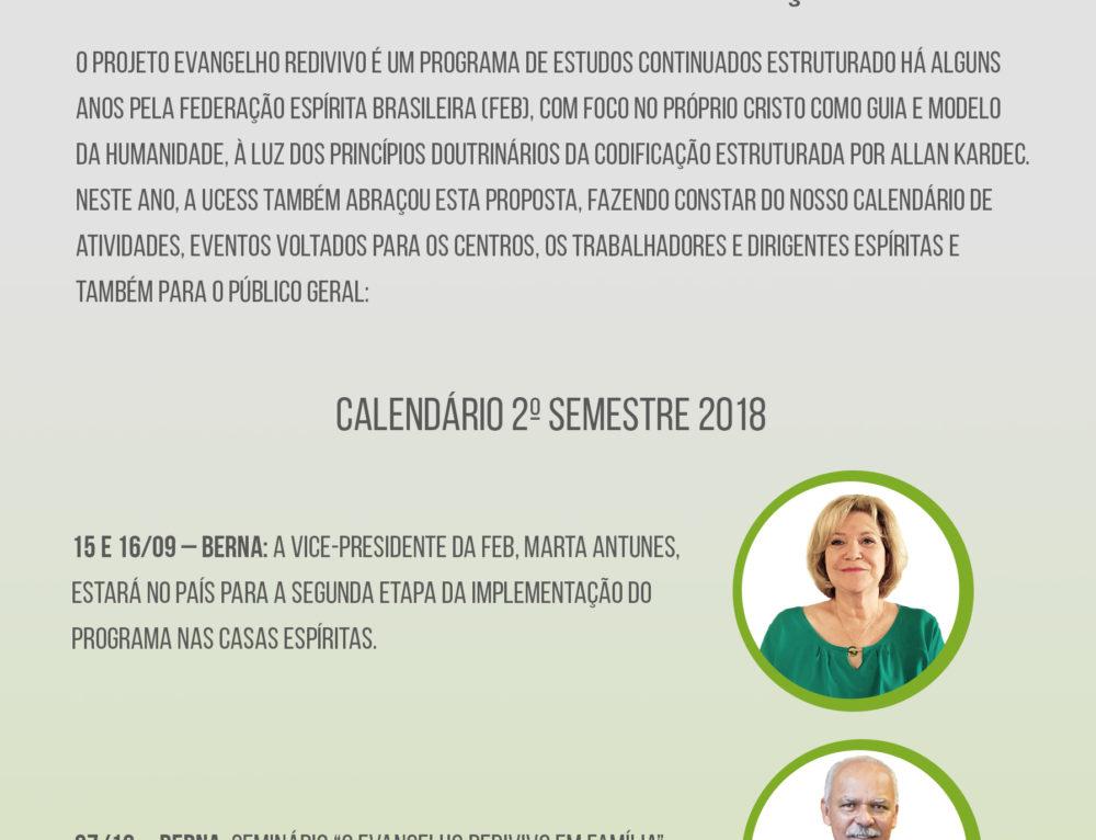 15 e 16 de Setembro: Seminário O Evengelho Redivivo