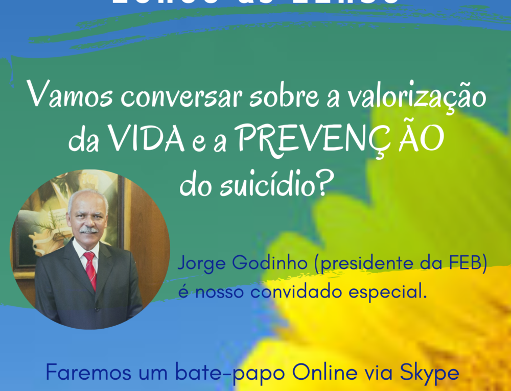 Bate-papo com Jorge Godinho (FEB)