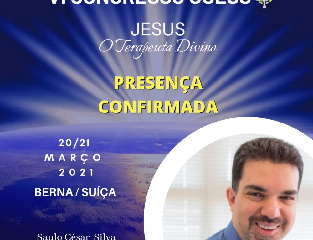 Saulo César Silva confirma presença no VI CONGRESSO UCESS