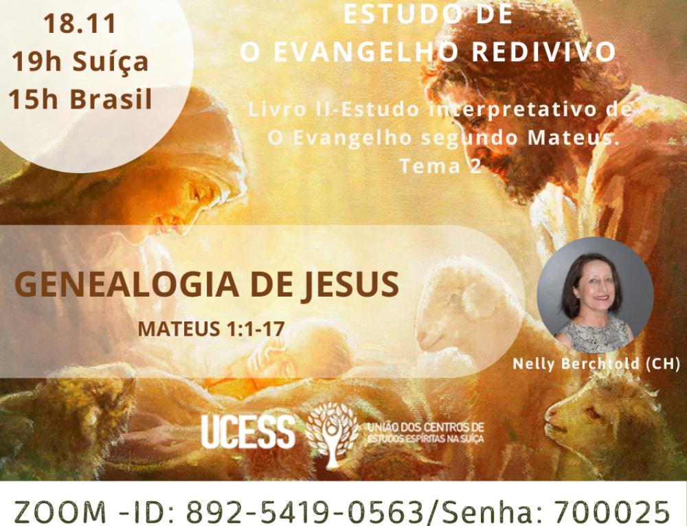 Evangelho Redivivo-Genealogia de Jesus