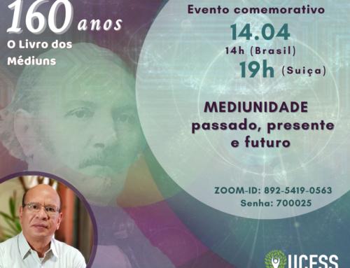 """Evento comemorativo aos 160 anos de """"O Livro dos Médiuns"""""""